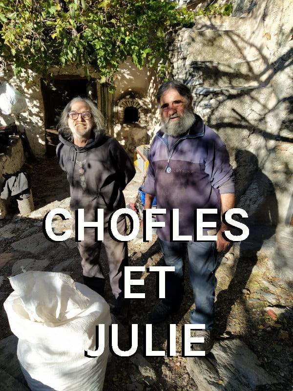 Producteur Andaloubio Chofles et Julie