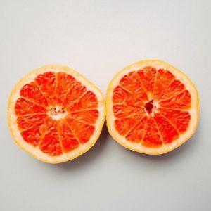 pomelo ouvert